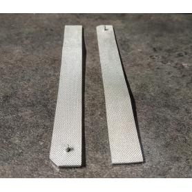 2 Rampes D/G - Long 122 mm - Résine - Ech 1:43