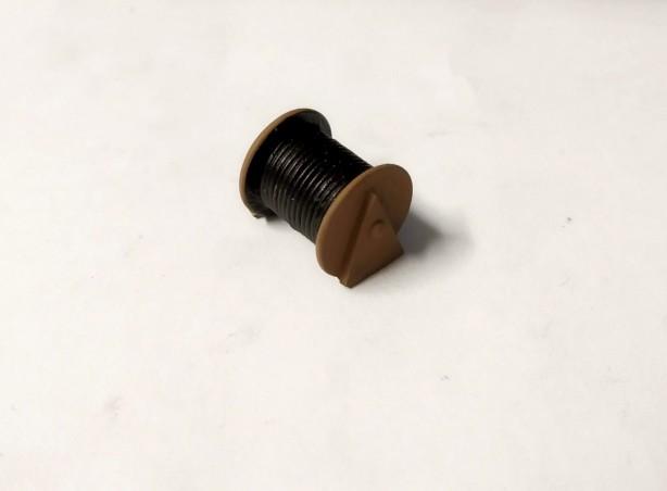 Dévidoirs en résine peint - 20mm - 1/43ème