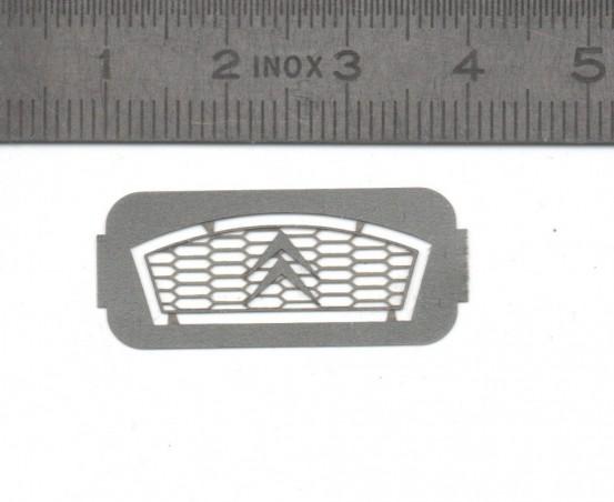 Citroën grille - Photoetched - Ech. 1/43