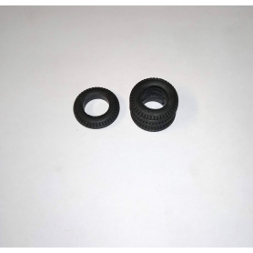 Soft resin tires - ø 18.30 - Th. 4.20 mm - Scale. 1/43