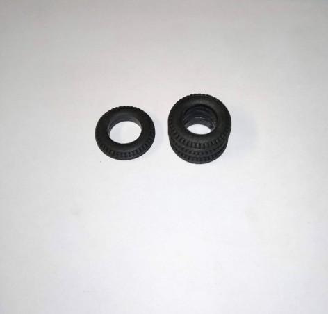 Pneus en résine souple - ø 18.30 - Ep. 4.20 mm - Ech. 1/43