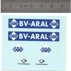 "1 / 43rd ""BV ARAL"" decal"