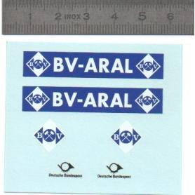 "Décalcomanie "" BV ARAL"" 1/43ème"