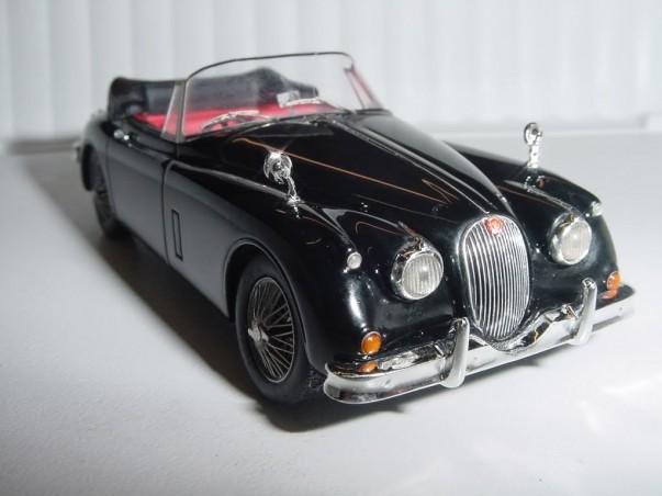 Jaguar XK 150 Cabriolet 1958 - noire - TWINCAM