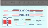 Décalcomanie - Citroën Xsara - POLICE - Ech. 1:43