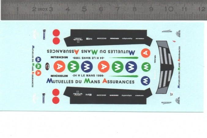 Décalcomanie - Renault Espace Sbarro 1999 - MMA - Ech. 1:43