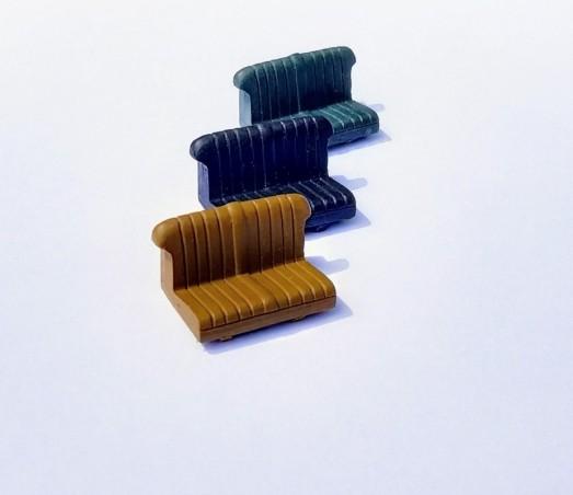 Solid square white styrenic profile - 3 x 33 cm
