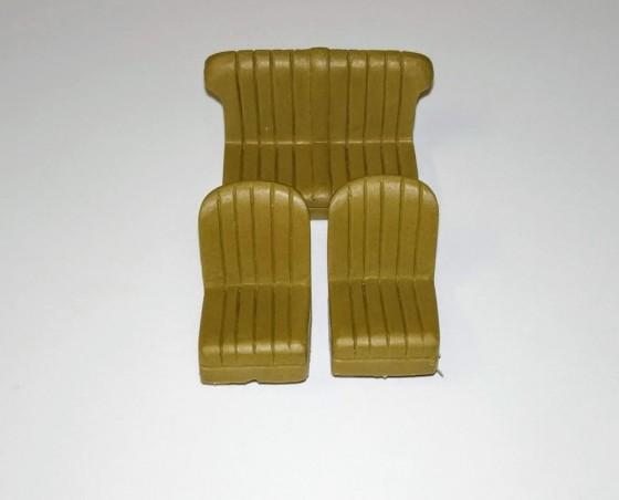Pack Banquette + Siège avant - Bentley 3.5L Cabriolet Gurney Nutting - 1/43