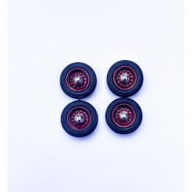 PANHARD - 4 roues complètes - Bordeaux - Ech 1:43