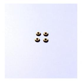 4 ø 4 mm brass bases - Ech. 1:43