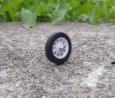 PANHARD - 4 roues complètes - Blanc  - Ech 1:43