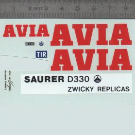 Decal - AVIA SAURER - 1:43