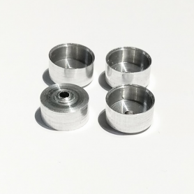 4 jantes en aluminium ø 10.50 mm - CPC Production