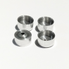 4 jantes en aluminium ø 10.50 mm - CPC Production