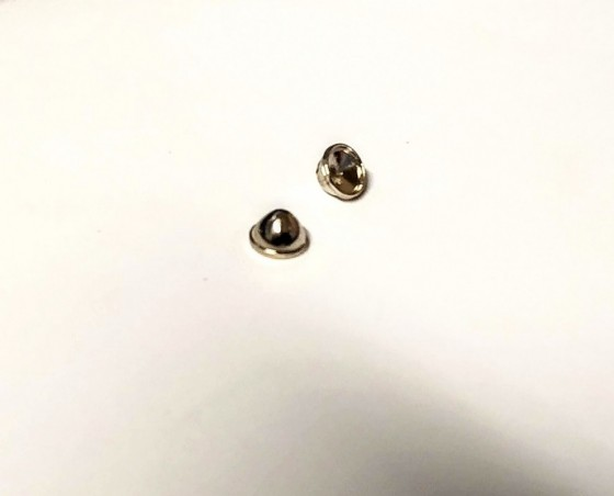 Phares en metal - Diamètre 6 mm - Ech. 1:43 - Par 2