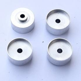 4 aluminum rims - ø10.40 mm - CPC Production