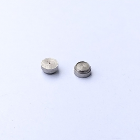 2 Bases for Headlight ø3.50 - Nickel-Plated Brass - CPC