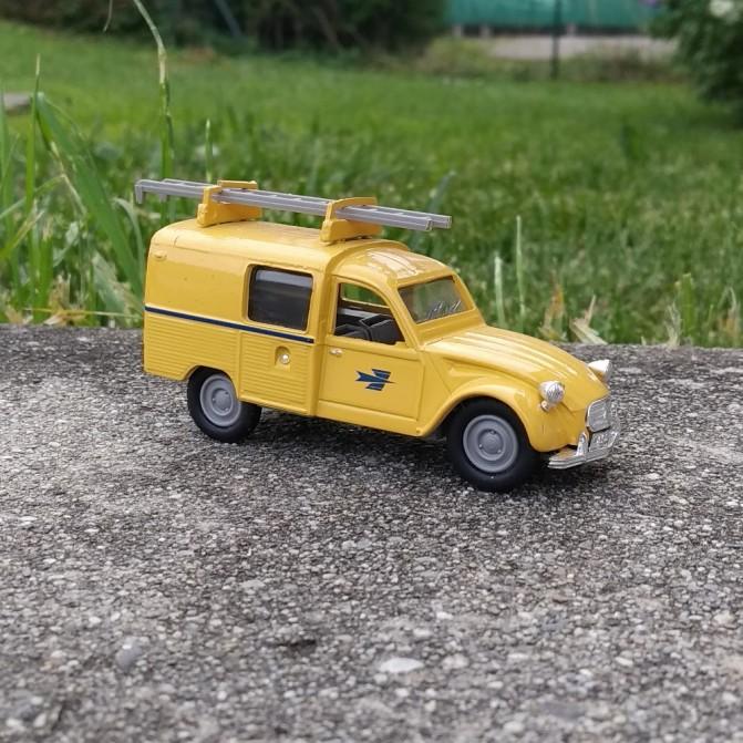 Citroën 3CV - La poste - Eligor - 1:43