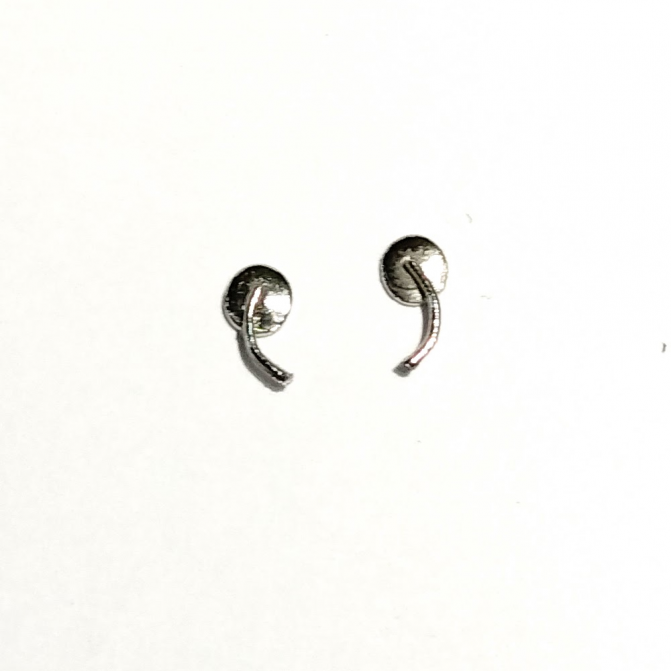 Espejos en metal blanco - 1/43 - X2