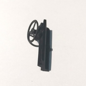 Dashboard - Width 22.50 mm - Black resin - 1:43