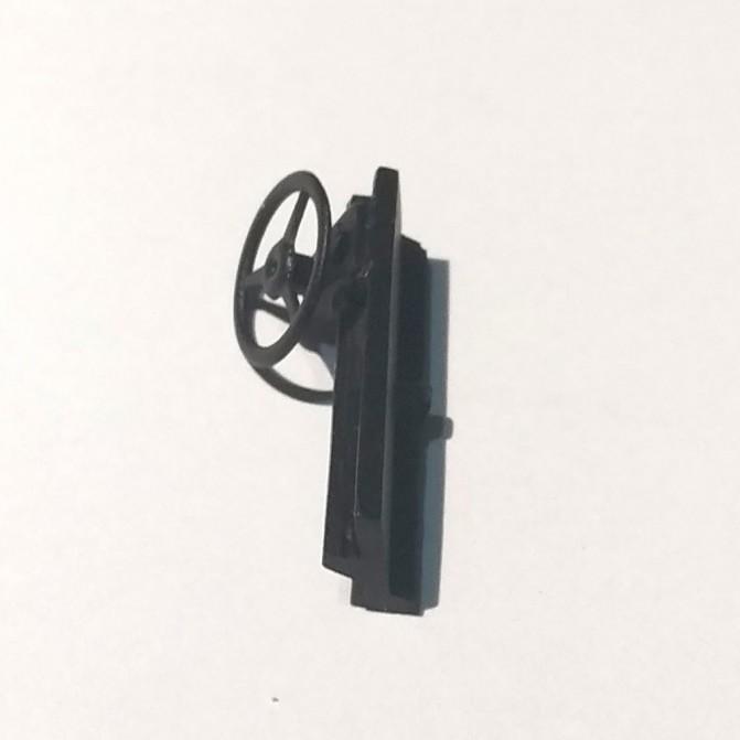 Tableau de bord - Largeur 22.50 mm - Résine noir - 1:43