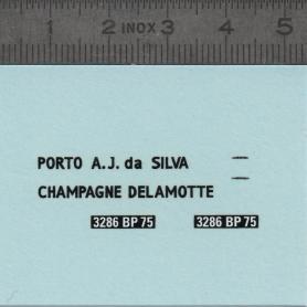 Decals: Citroën 2CV Charbonneau Dyane Ami - 1:43