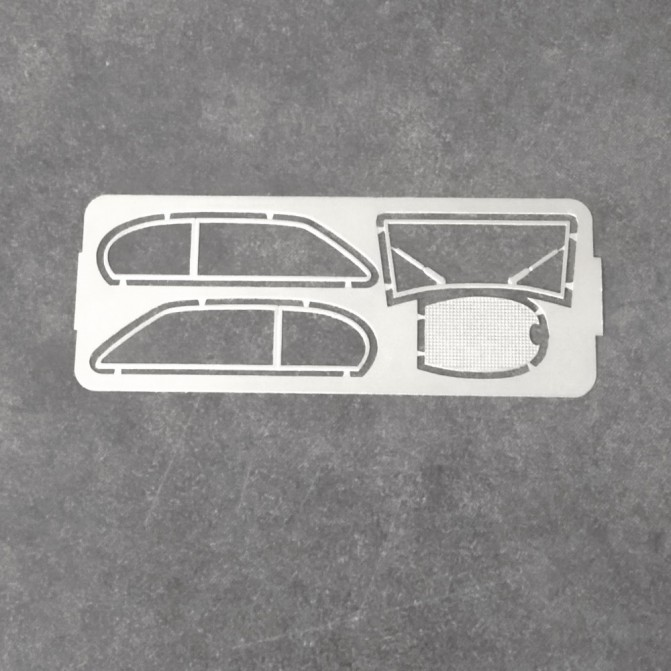 Photodécoupe : Bugatti T46 Superprofilé - Ech 1:43