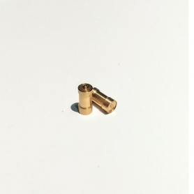 2 Brass tanks - 9.80 mm - CPC Production