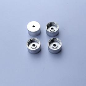 4 Aluminum rims ø12 mm X 8 mm - CPC Production