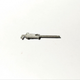 White Metal submachine gun - 31 mm - 1:43 - CPC
