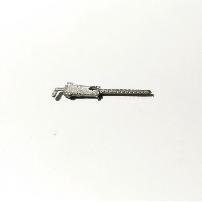 Mitraillette en White Metal - 31 mm - 1:43 - CPC