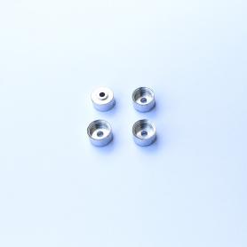 4 Aluminum rims Ø 8.30 x 5 mm - CPC Production