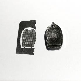 Miniature automobile - MERCEDES-BENZ MAYBACH G650 BLANCHE-1/43-Schuco