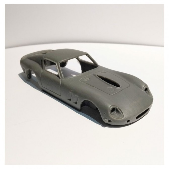 Carrosserie Ferrari 250 GTE Drogo - Résine - 1:43