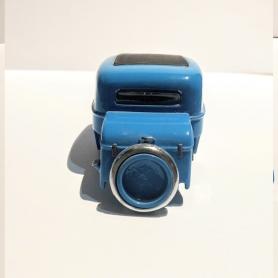 Miniature de bus - CITROEN 2CV DECAPOTABLE BLEUE- 1/87 -Schuco