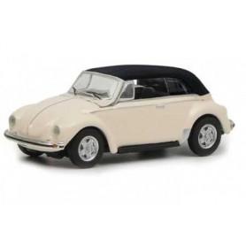 Miniature de bus - VOLKSWAGEN COCCINELLE CABRIOLET BEIGE- 1/87 -Schuco