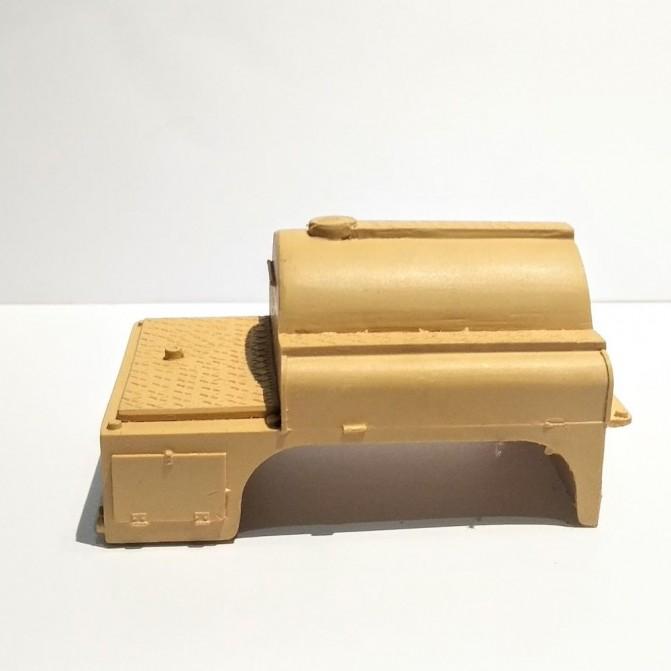 Citerne pour GMC Double cabine CCFL - 1/43 - Résine brut - C005