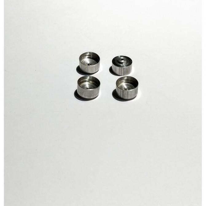 4 jantes Aluminium ø10X6 mm- CPC Production