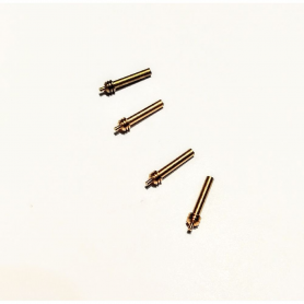4 shock absorbers - Brass - Length: 11 mm - CPC Production