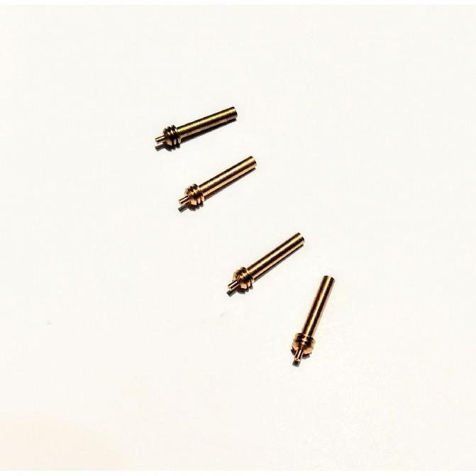 4 amortisseurs - Laiton - Longueur :11 mm - CPC Production