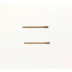 2 brass antennas 16mm for miniature - CPC PRODUCTION