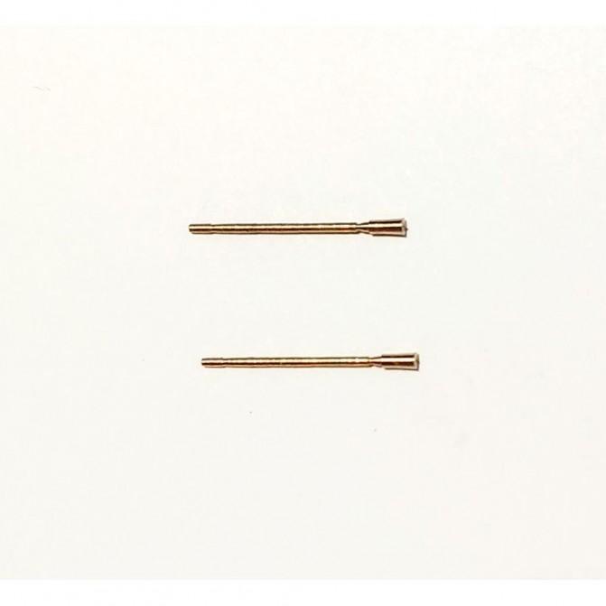 2 Antennes  en laiton 16mm pour  miniature -  CPC PRODUCTION
