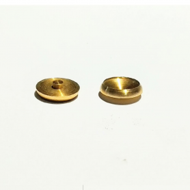2 BRASS BASES - ø8.40 mm - CPC Production