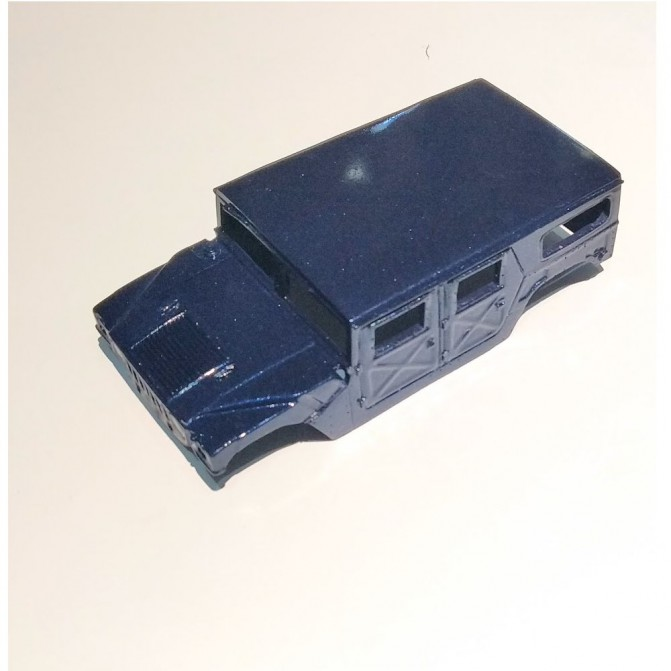 Miniature de camion - VBMR 6X6 VERT CAMOUFLE 3 TONS OTAN- 1/48 -MASTER