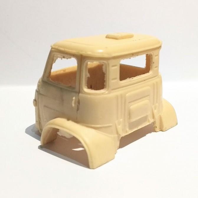 Miniature de camion - RENAULT VAB MK.III TOURELLE T1 VERT- 1/48 -MASTE