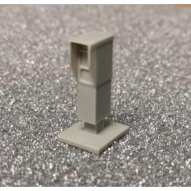 Radar fixe en résine pour diorama au 1/43ème - À peindre