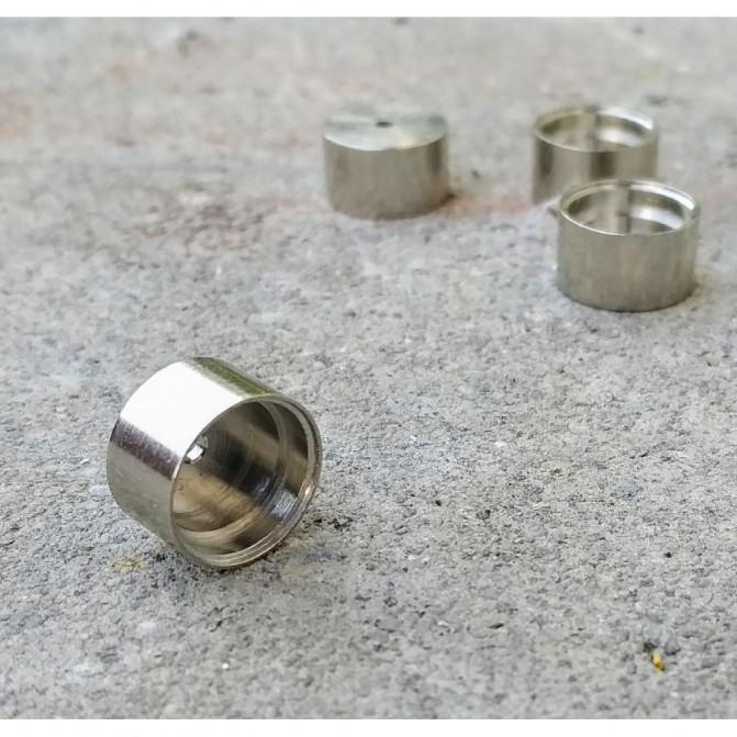 4 Jantes en laiton traité ø10.20 X 6 mm - JA131B - CPC Production
