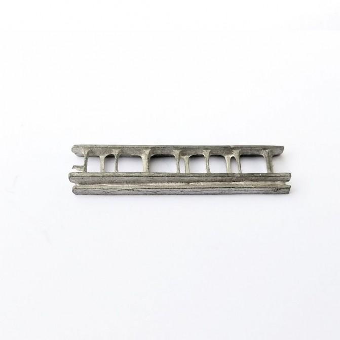 Échelle double - 35 X 8.50 mm - White Metal - CPC Production