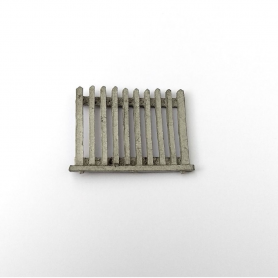 White metal barrier - 31 X 25 mm - CPC Production