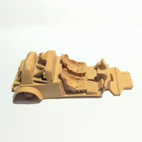"Miniature de camion - RENAULT GALION BUS AMIOT ""PINDER""-1/43-PERFEX"